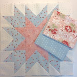 I Love This Quilt! Silhouette Stars Block 3