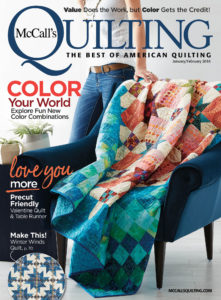 McCall's Quilting January/February 2018 Magazine