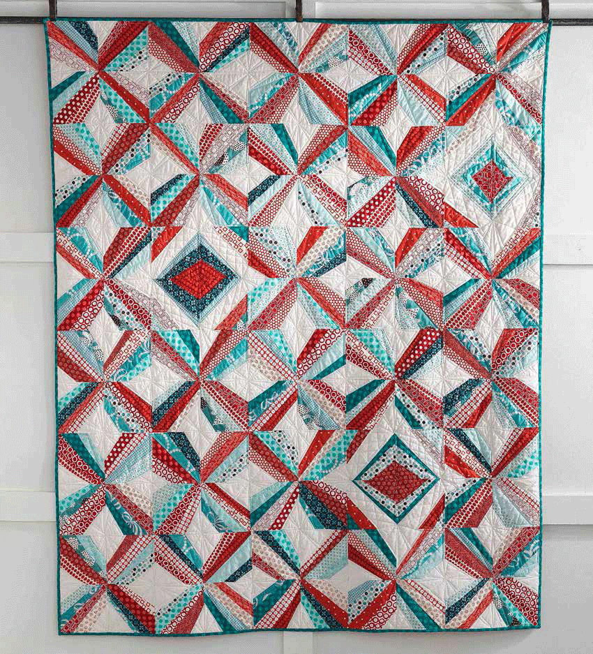 Mod Pinwheel Quilt Pattern The Quilting Company