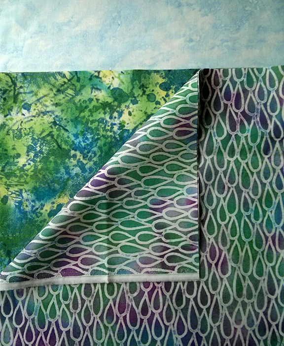 Our Paintbrush Studio fabrics for this month