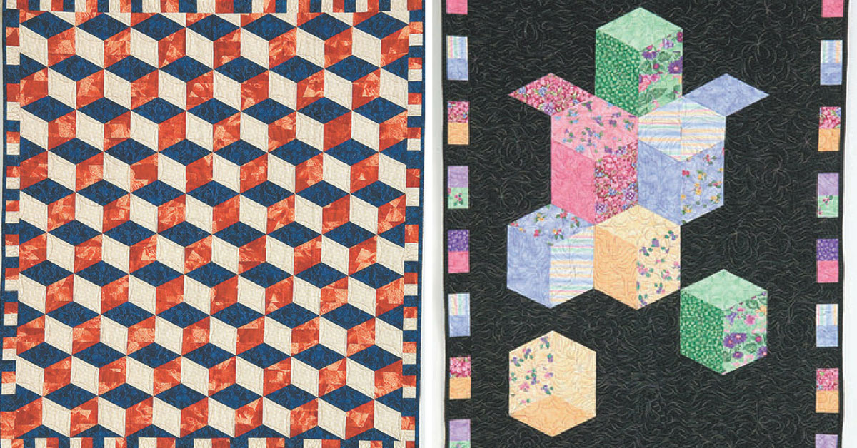 I Love this Quilt! - Tumbling Blocks
