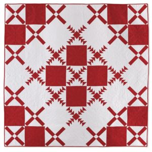 X Marks the Spot Quilt by Linda Pumphrey
