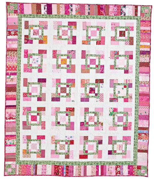 Free Scrap Quilt Pattern #1: Girlie Girl by Toby Preston