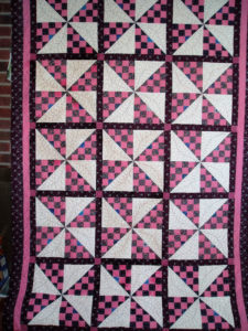 Quilt made by Rita