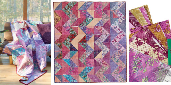 Try printing your own fabric for modern quilts.