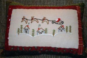 Santa Flying High