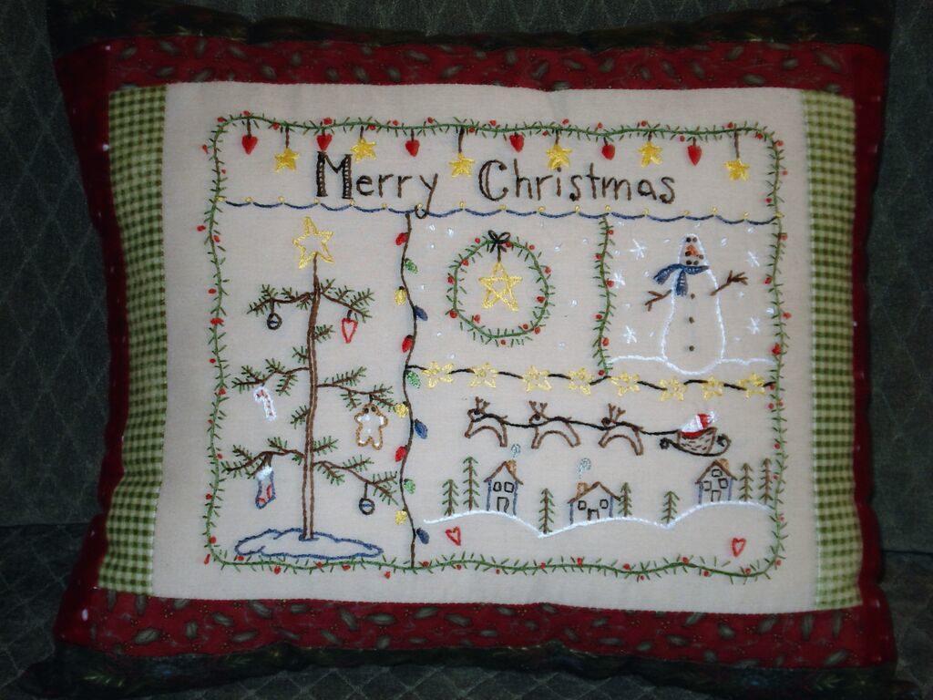 Merry Christmas Stitchery
