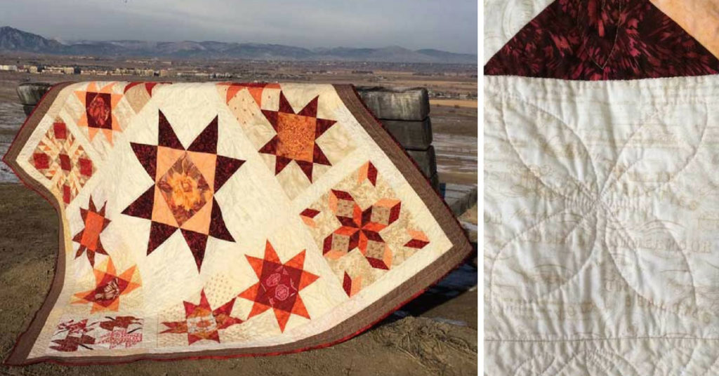 Saturday A.M. Quilt Break: My Ohio Star Quilt - The Quilting Company : ohio star quilt shop - Adamdwight.com