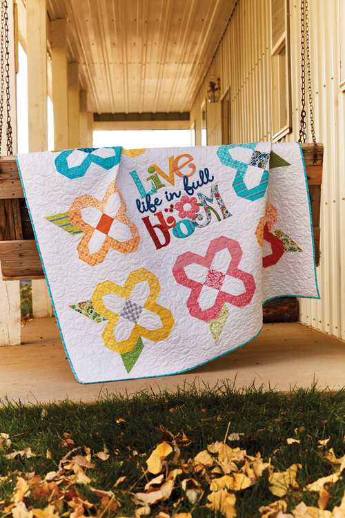 McCall's Quilting March/April '18 | Life in Full Bloom Quilt