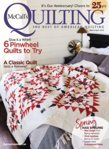 McCall's Quilting March/April '18