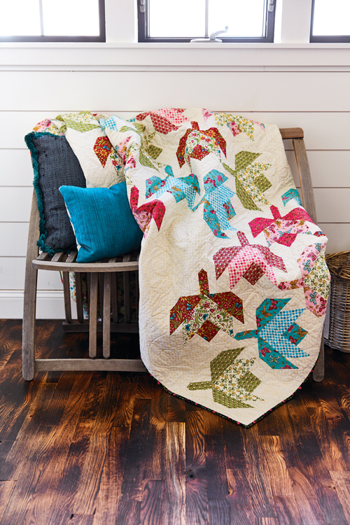 McCall's Quilting March/April '18 | Darling Buds of May