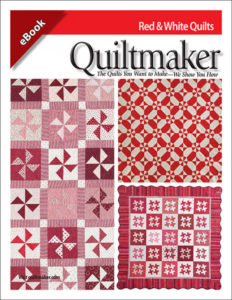 Quiltmaker's Red and White Quilt Patterns