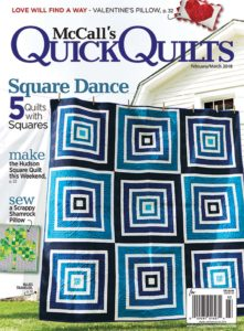 McCall's Quick Quilts, February/March 2018