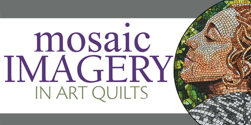 "Mosaic Art Quilt by Heidi Proffetty called ""Blossomed"""