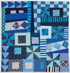 Explore artful improvisation with Maria Shell in this issue of Quilting Arts Magazine