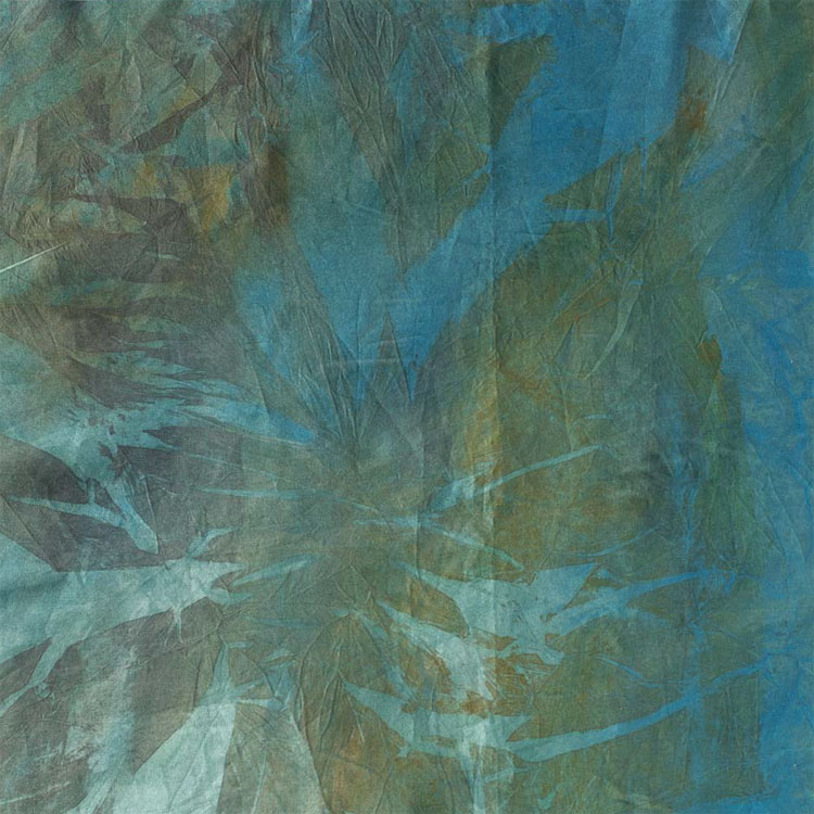 Example of geological textures dyed by Magge Vanderweit
