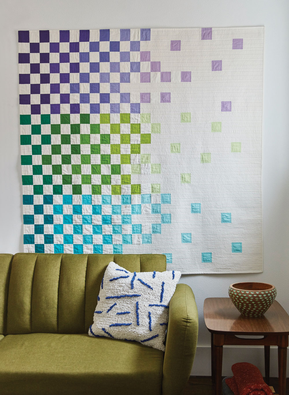 Racing Fade Quilt by Sheri Cifaldi-Morrill