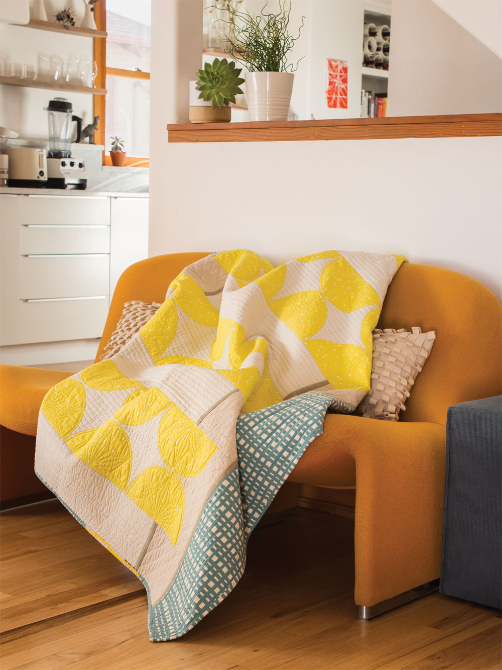 Lemon Drops Quilt by Heather Black