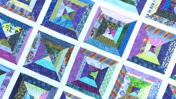 String Piecing with Lori Baker