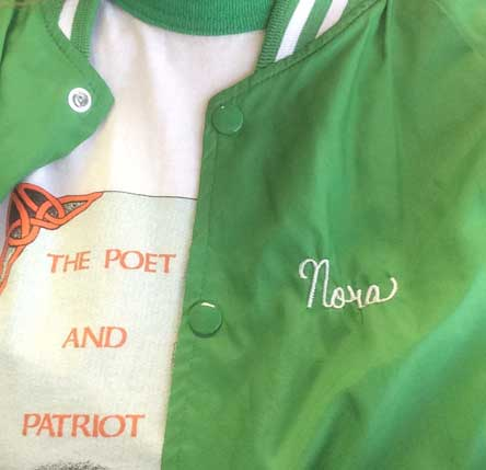 shirt from The Poet and Patriot Irish pub in Santa Cruz