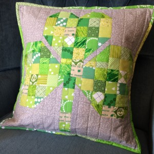 Nora's Shamrock Pillow