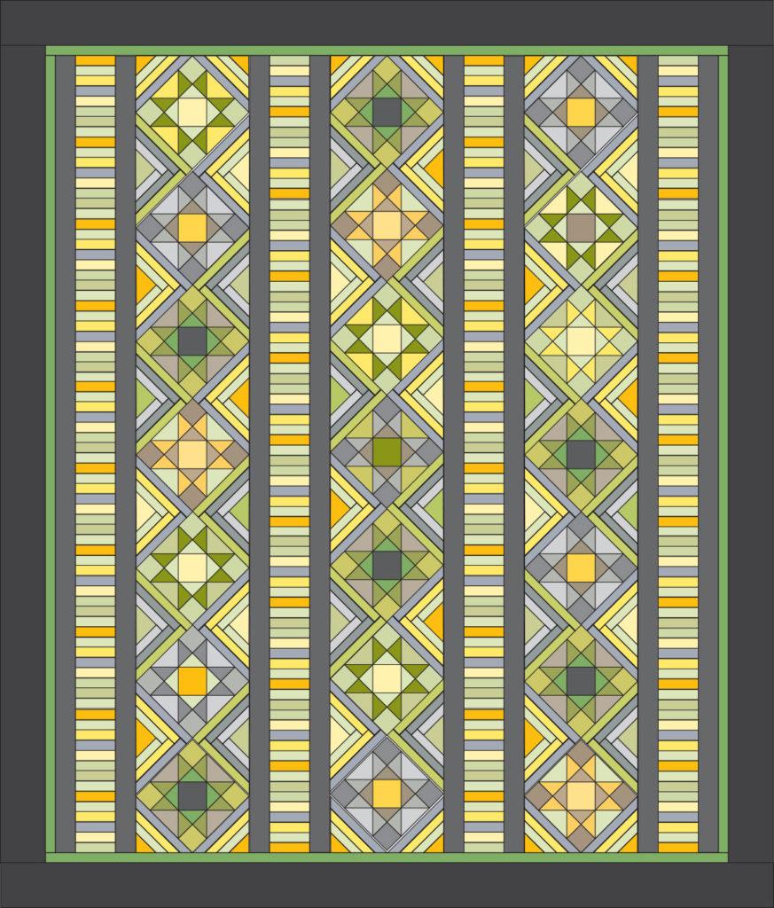 I Love this Quilt! diagram