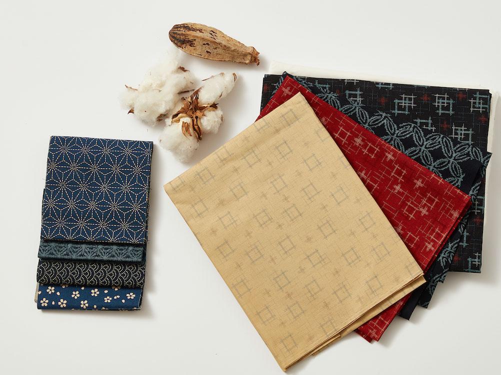 Kasuri Cropped Cotton