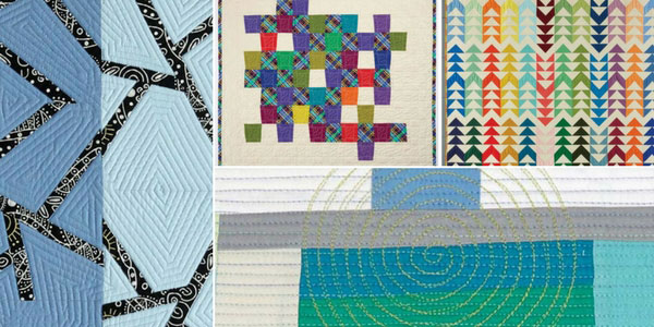 Projects from Modern Machine Quilting