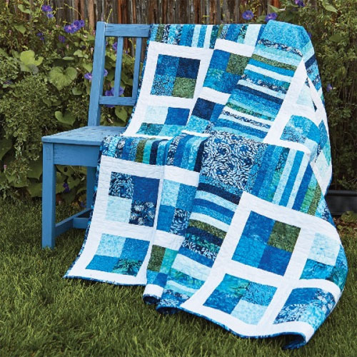 Quick Quilts Magazine - Ocean Vista Quilt Pattern Download