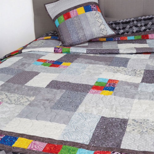 Quick Quilts Magazine - Partly Cloudy Quilt Pattern