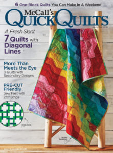 McCall's Quick Quilts April/May '18