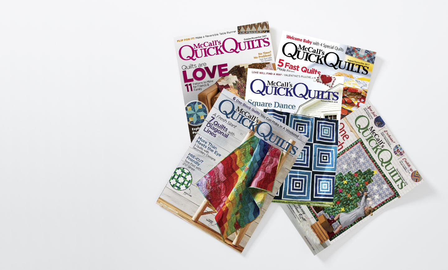 Quick Quilts Magazine - Shop all back issues