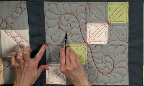 Long Arm Quilting - Traditional versus Modern Longarm Methods Video