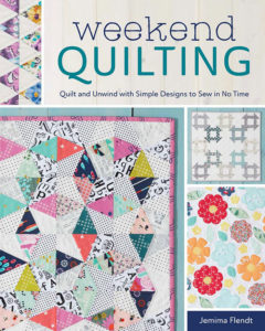 Cover of the quilting book Weekend Quilting