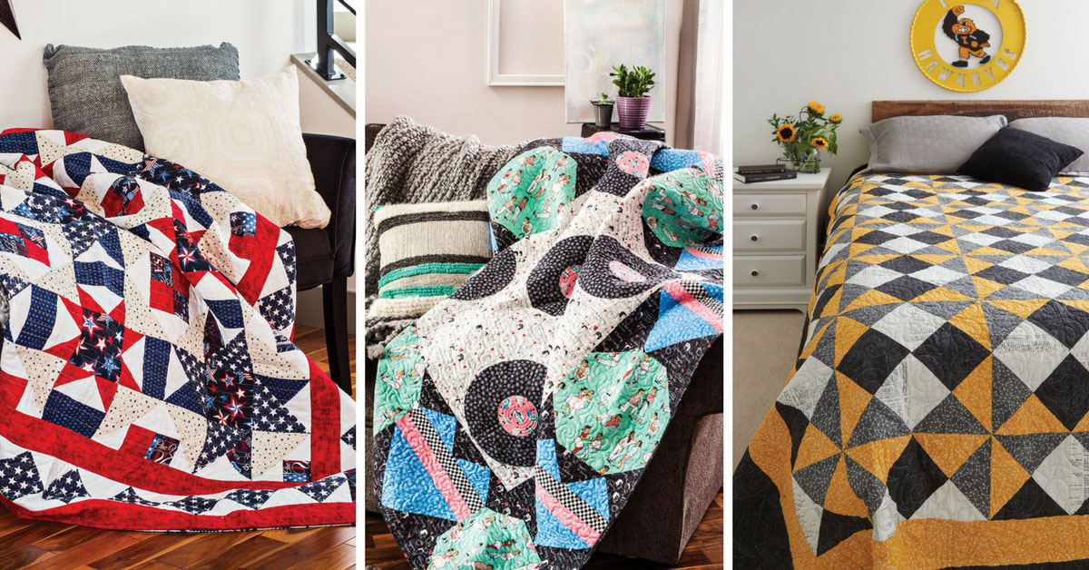Easy Quilts Summer 2018 Featured quilts