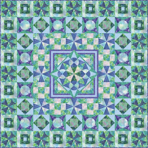 Freeform quilt