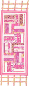 In the Pink free table runner