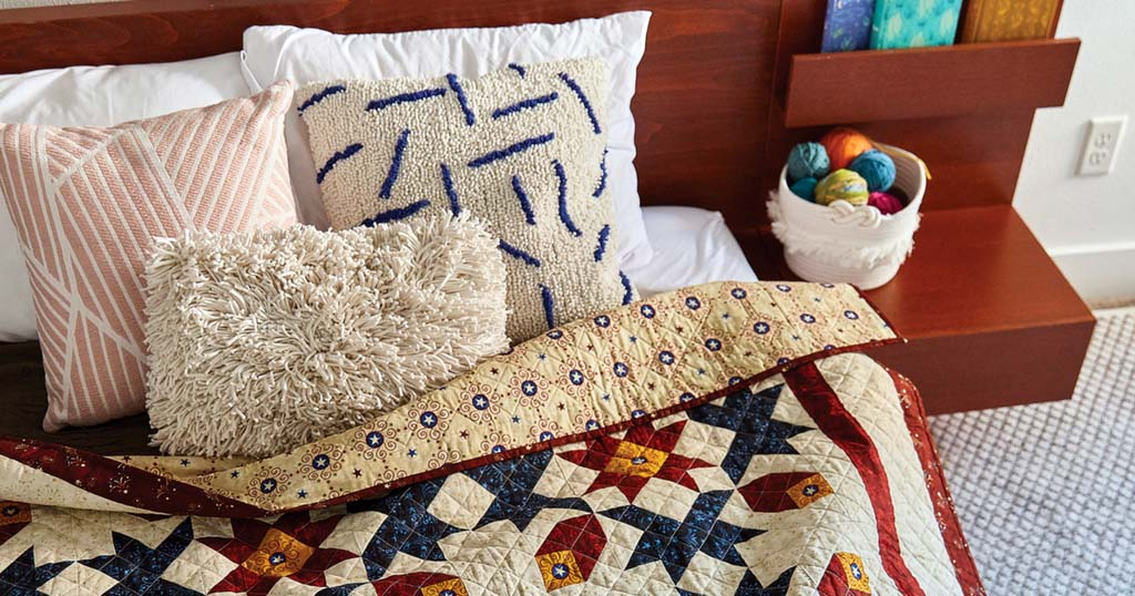 With Distinction quilt