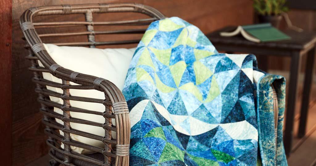 Waterworks quilt