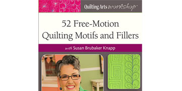 Free-Motion Quilting Motifs and Fillers Video Download