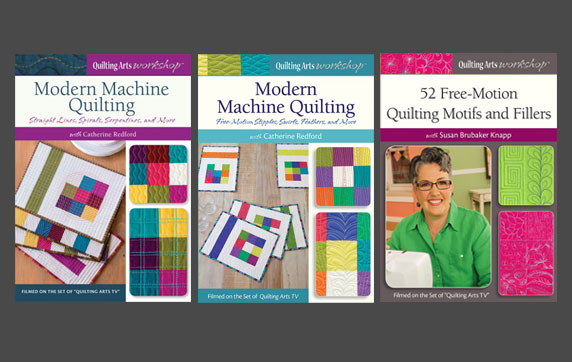 Quilting with Your Home Sewing Machine Video Download Collection Bundle