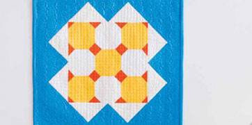 Sunny Day Wall Hanging Pattern Download