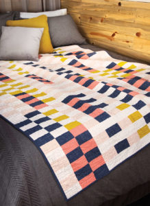 Dash by Amy Ellis is an interesting yet simple modern quilt