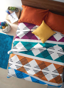This complex-looking modern quilt by Scott A. Murkin is straightforward to construct.