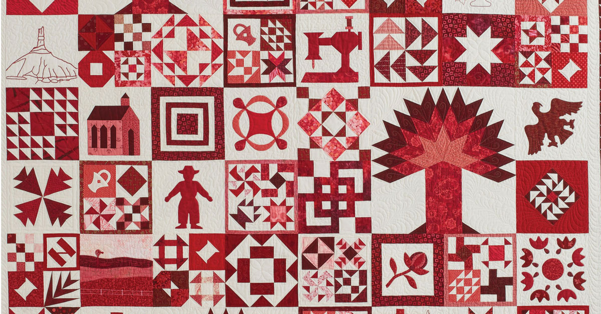 Scarlet Sampler quilt