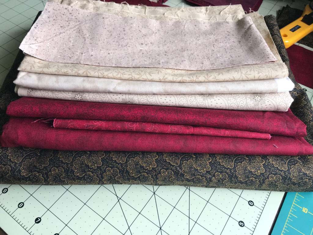 Mystery Quilt: Stellar Elegance color choices