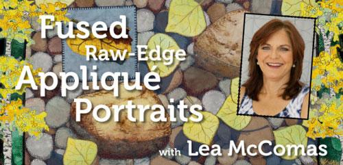 Applique Quilting - Fused Raw-Edge Applique Portraits