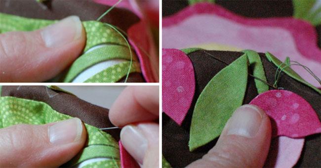Applique Quilting - I Love Appliqué: The Stitch