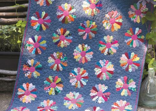 Applique Quilting - Diane's Dresdens Quilt Pattern Download
