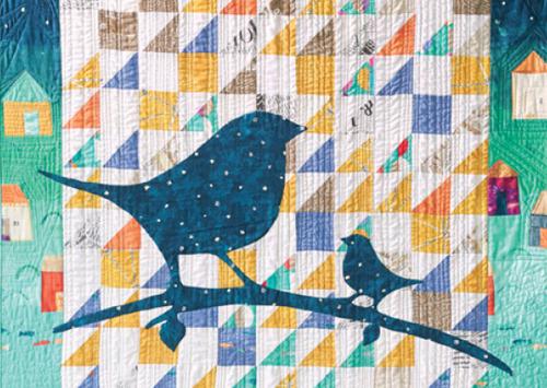 Applique Quilting - Applique Bird Quilt Pattern Download